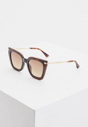 Очки солнцезащитные Jimmy Choo CIARA/G/S OCY. Цвет: коричневый