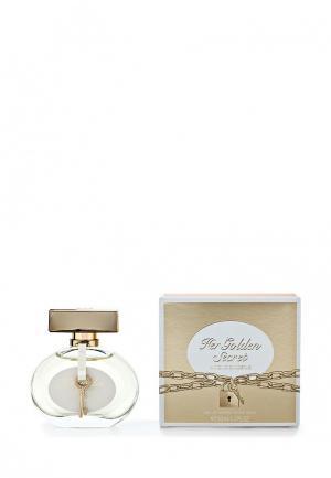 Туалетная вода Antonio Banderas Golden Secret Woman 50 мл. Цвет: белый