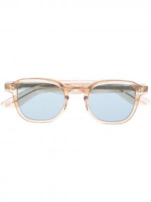 Солнцезащитные очки NYC Momza Moscot. Цвет: нейтральные цвета