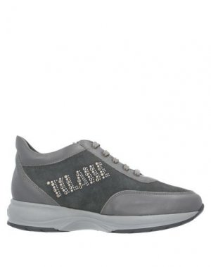 Низкие кеды и кроссовки ALVIERO MARTINI 1a CLASSE. Цвет: серый
