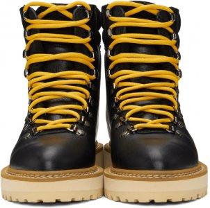 Black & Beige Monfumo Boots Diemme. Цвет: black leath