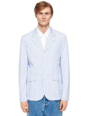 Костюмный пиджак COMME DES GARCONS. Цвет: полоска