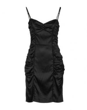 Короткое платье BETSEY JOHNSON. Цвет: черный