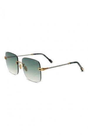Солнцезащитные очки Fred. Цвет: зелёный