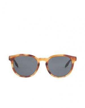 Солнечные очки GIORGIO ARMANI. Цвет: коричневый