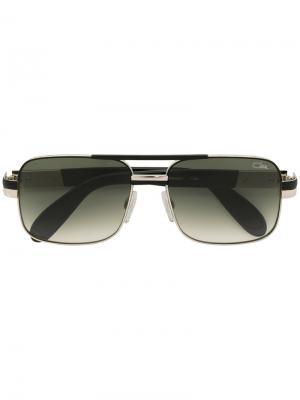 Квадратные солнцезащитные очки Cazal. Цвет: золотистый