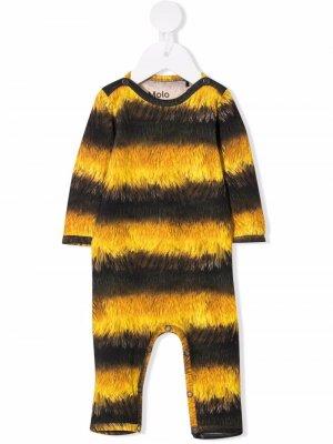 Пижама с принтом Molo. Цвет: желтый