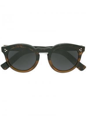 Солнцезащитные очки Leonard II Illesteva. Цвет: чёрный