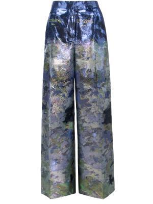 Брюки-юбка Antonio Berardi. Цвет: разноцветный