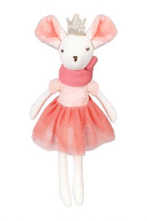 Мышка Тильда ANGEL COLLECTION. Цвет: белый, розовый