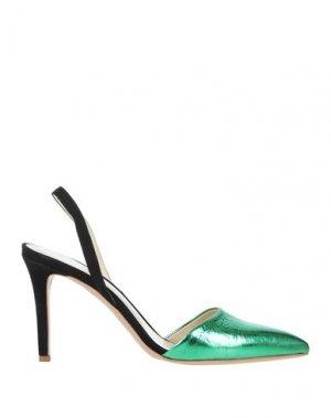 Туфли GIANNI MARRA. Цвет: зеленый