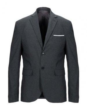 Пиджак HERMITAGE. Цвет: свинцово-серый