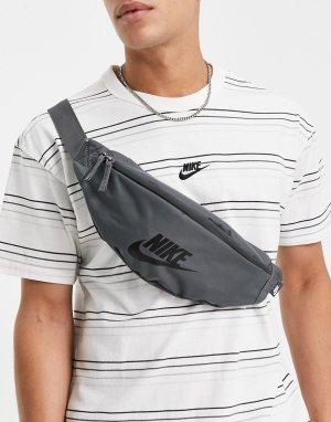Серая сумка-кошелек на пояс Heritage-Серый Nike