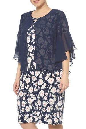Платье CREDO. Цвет: мультицвет