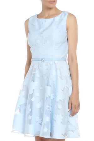 Платье Fervente. Цвет: голубой