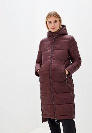 Куртка утепленная I Love Mum Монреаль. Цвет: бордовый