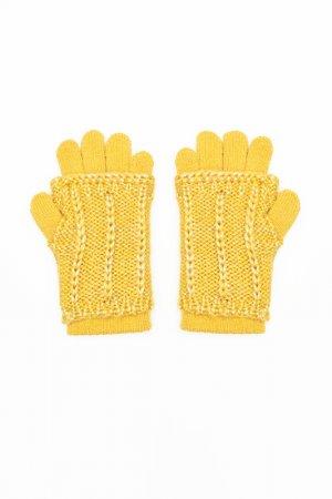 Перчатки Coccodrillo. Цвет: желтый