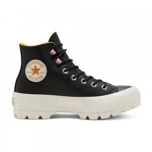 Chuck Taylor All Star Lugged Winter Gore-Tex High Top Converse. Цвет: чёрный