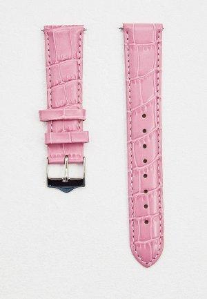 Ремешок для часов Signature. Цвет: розовый