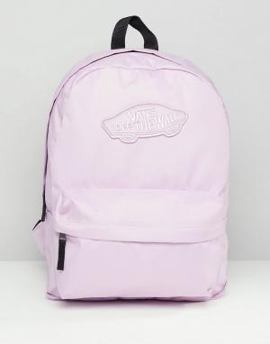 Розовый рюкзак Realm Vans