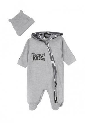 Комплект Beverly Kids MOLOKOSOS. Цвет: серый