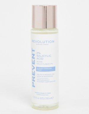 Тоник с 2% салициловой кислотой Skincare-Бесцветный Revolution
