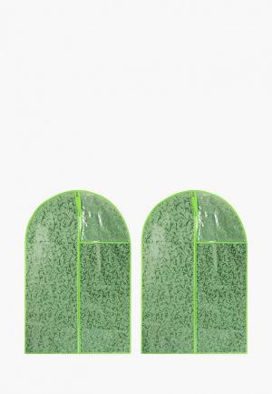 Комплект El Casa. Цвет: зеленый