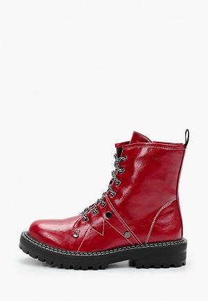 Ботинки Bona Dea. Цвет: красный