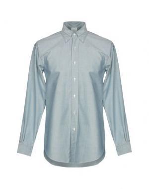 Pубашка BROOKS BROTHERS. Цвет: зеленый