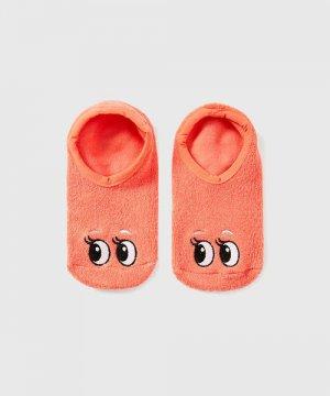 Носки для девочек O`Stin. Цвет: коралловый