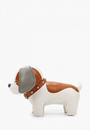 Фигурка декоративная White Moose Добрый бигль. Цвет: белый