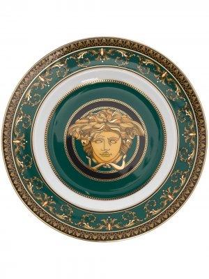 Medusa 18cm place Versace. Цвет: зеленый