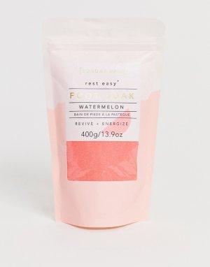 Ванна для ног с ароматом арбуза -Бесцветный Sunday Rain