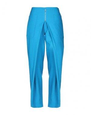 Повседневные брюки ATTIC AND BARN. Цвет: бирюзовый