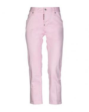 Брюки-капри DSQUARED2. Цвет: розовый
