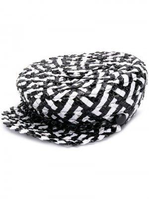 Шляпа Sabrina Eugenia Kim. Цвет: черный