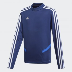 Джемпер Tiro 19 Performance adidas. Цвет: белый