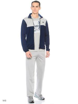Костюм BACK2BASICS TS  CONAVY/MGSOGR Adidas. Цвет: темно-синий, серый
