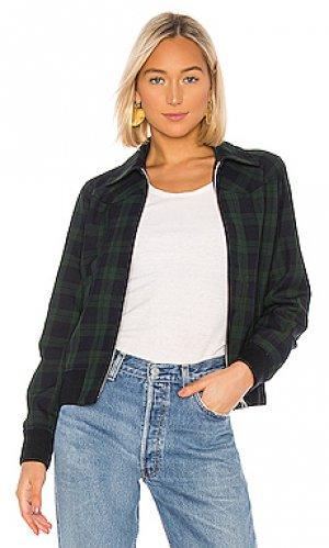 Куртка candem A.P.C.. Цвет: зеленый