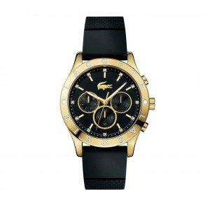 Часы CHARLOTTE Lacoste. Цвет: черный