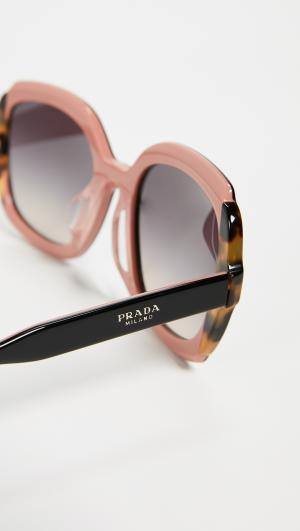 Round Sunglasses Prada