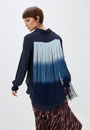 Блуза Beatrice.B. Цвет: синий