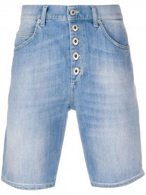 Джинсовые шорты скинни Dondup. Цвет: синий