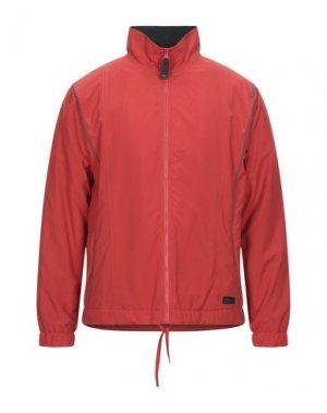 Куртка ARENA. Цвет: красный