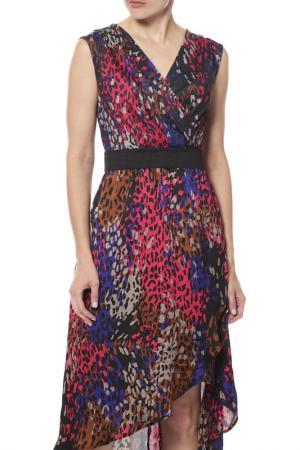 Платье Enrico Coveri. Цвет: мультицвет
