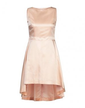 Короткое платье COMPAGNIA ITALIANA. Цвет: абрикосовый