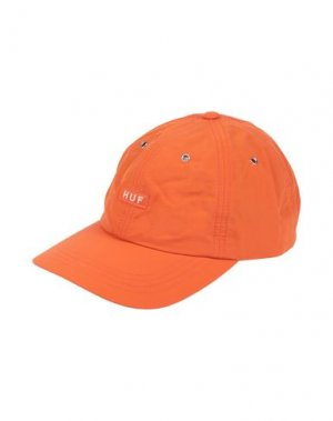 Головной убор HUF. Цвет: оранжевый