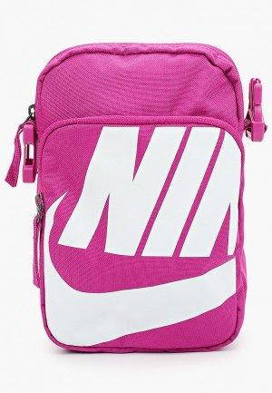 Сумка Nike NK HERITAGE SMIT - 2.0 GFX. Цвет: розовый