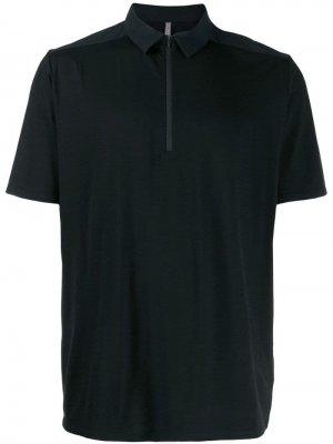 Рубашка с воротником на молнии Arc'teryx Veilance. Цвет: черный