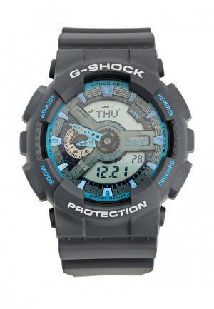 Часы Casio G-SHOCK GA-110TS-8A2. Цвет: серый